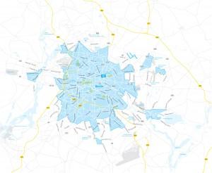 car2go Geschäftsgebiet Berlin | Stand: 04.2012