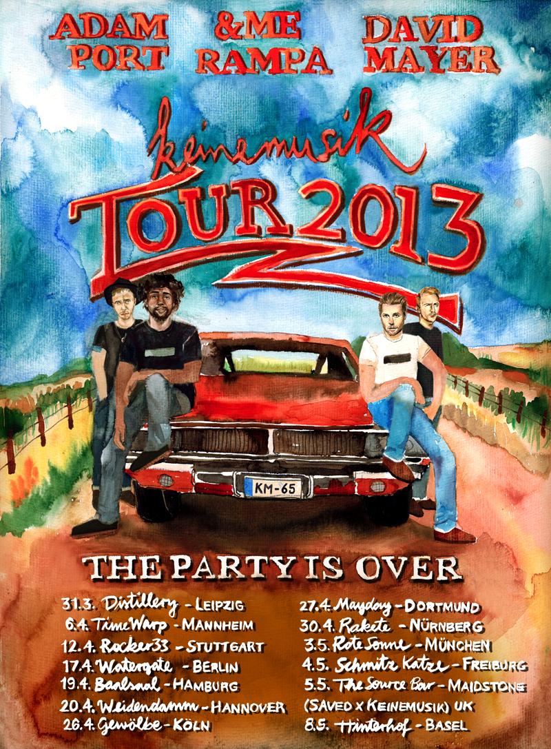 Keinemusik Tour 2013
