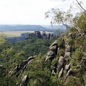 Ausblick Schrammsteine